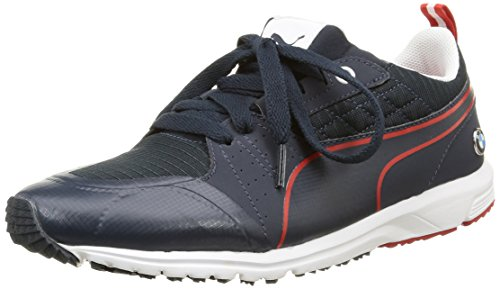 Puma BMW MS Pitlane, Unisex-Erwachsene Sneakers, Blau (BMW Team Blue-BMW Team Blue-High Risk Red 02), 42 EU (8 Erwachsene - 8. Ms-team