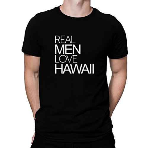 Camiseta-Real-men-love-Hawaii