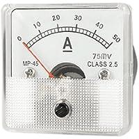 DealMux 0-50 DC MP45 Classe 2.5 Precisão medidor de painel atual