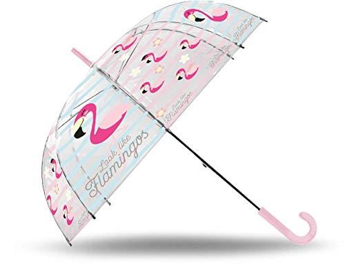 Desconocido Kids Licensing- Paraguas Flamingo Transparente