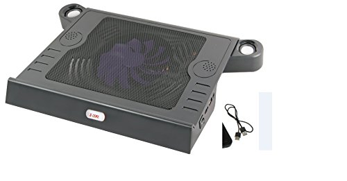 5 core Cool Master Laptop Powerful Cooling Pad with Computer Speaker