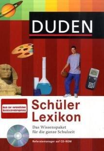 Duden Schülerlexikon, m. CD-ROM