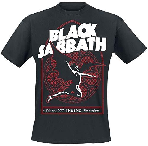 Black Sabbath The End Church Window Camiseta Negro L