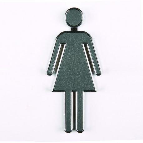 Pictogramme Toilettes - Pictogramme 3D toilette
