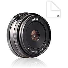 Meike APS-C de 28 mm f/2.8 Lente de enfoque manual fija para cámara sin espejo für Sony