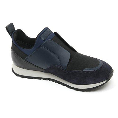 B9634 sneaker donna TOD'S scarpa sportivo yo nero/blu shoe woman Nero/Blu