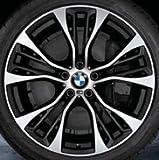 Original BMW Alufelge X3 F25 M Doppelspeiche 599M in 21 Zoll für hinten