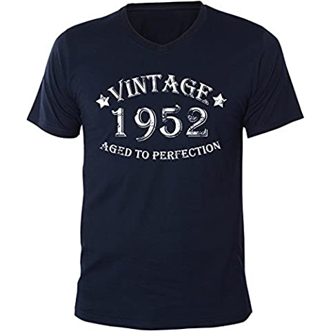 Mister Merchandise Uomo T-Shirt Vintage 1952 - Aged to Perfection