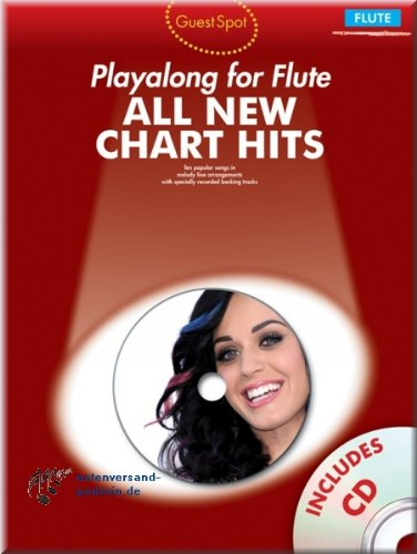All New Chart Hits Playalong for Flute - Flöte Noten