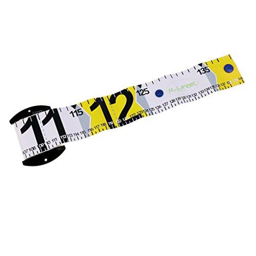 für Fisch zu Messen Zubehör 138 x 5cm Schneidermaßband Maßband Bandmaß