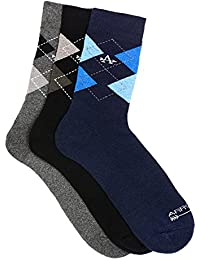 Arrow Men's Calf Socks (Pack of 3)