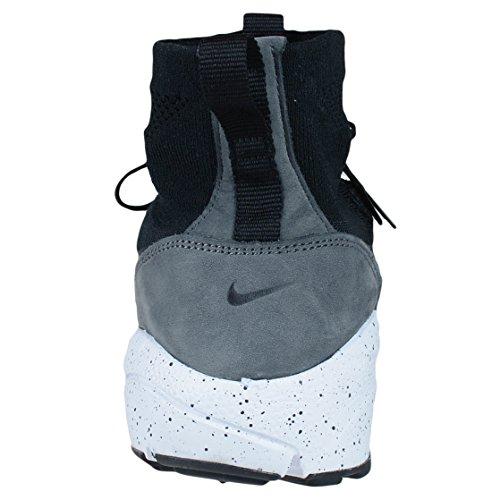 Nike Herren Air Footscape Magista Flyknit Fußballschuhe Black (Black (schwarz / schwarz-dunkelgrau-Volt))