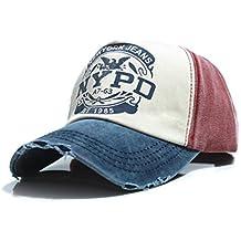 Casquillo cabido del sombrero de Hip Hop del camionero Gorras De Camionero Gorras unisex del algodón de Gorras Hombre Bobury