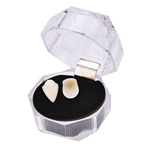 ernde Werwoelfe Zaehne Fake Zahnersatz Zaehne Kostuem Halloween 19mm ()