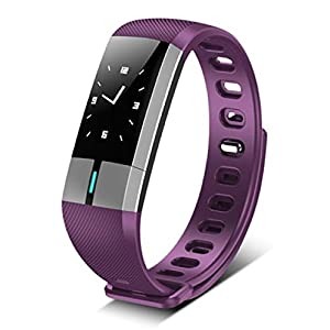 KPulsmesser Intelligentes Blutdruck-Armband Männliches ECG Herzfrequenz-wasserdichtes Sport-Pedometer ältere Apple-Uhr
