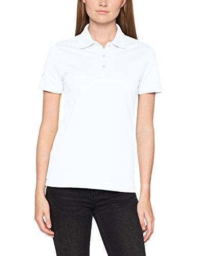 Trigema Damen 521603 Poloshirt, Weiss 001, M -