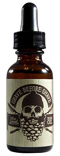 GRAVE BEFORE SHAVE - Bartöl / Bart Öl / Beard Oil - 1 fl oz / 30 ml (Pine Scent) -