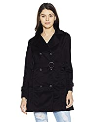 Fort Collins Womens Quilted Coat (92903 AZ_Black_Large)