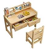 Esstisch Höhenverstellbar Kinder Studie Schultisch und Stuhl Set mit Bücherregal (größe : 120cm)