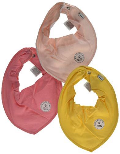 NAME IT NAME IT Baby-Mädchen NBFYVETTEDUX 3P SCARF BIB Schal Mehrfarbig Flamingo Pink, (Herstellergröße: One Size) (per of 3)
