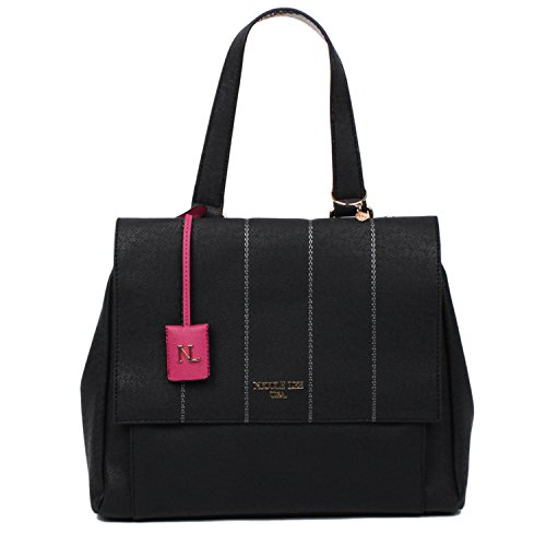 nicole-lee-emerson-satchel-bag-black