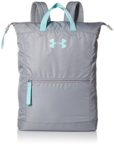 Under Armour Damen UA Multi-Tasker Backpack Rucksack, Steel, 20 x 10 x 2 cm (Multi-tasche Rucksack)