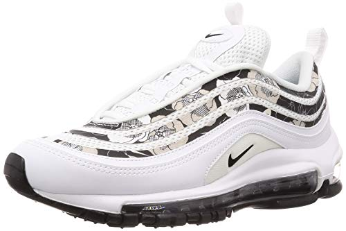 Nike Damen W Air Max 97 Se Leichtathletikschuhe, Weiß (White/Black 100), 39 EU (Air Max Nike Frauen)