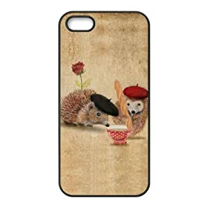 SHJFDIYCase Design DIY Hedgehog Best Phone Case for Iphone 5,5S, DIY Phone Case SHJF-517000