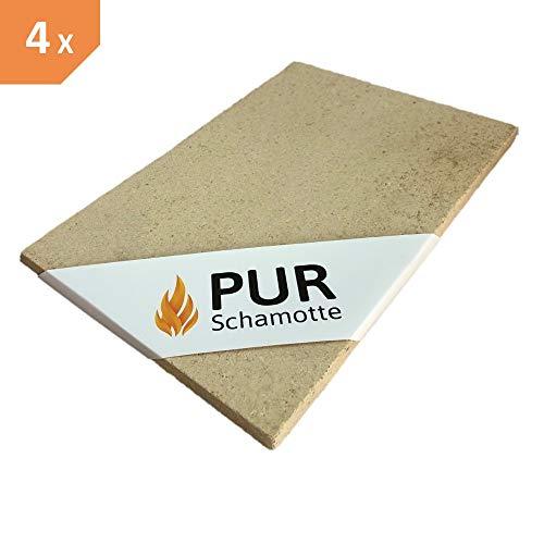 PUR Schamotte Placa Arcilla refractaria 300 x 200