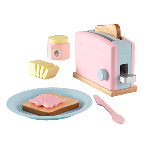 KidKraft Toaster Set - Pastel - Play Kitchen accessory