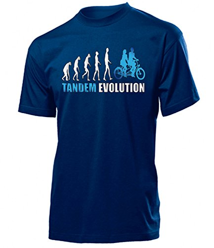TANDEM EVOLUTION 4439(H-N-Weiss-Blau) Gr. M
