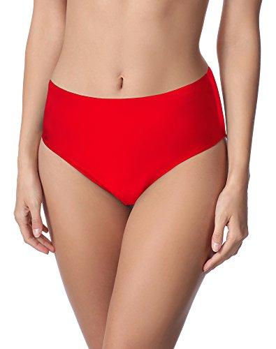 Merry Style Damen Bikini Unterteil M72W (Rot(4186), 42)