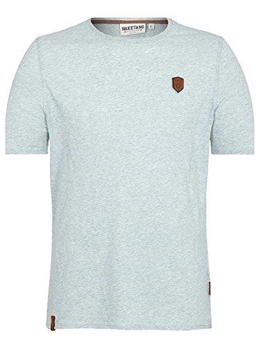 Naketano Male T-Shirt Italienischer Hengst nasty mint melange