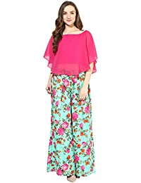 ATHENA Pink Top With Palazzo