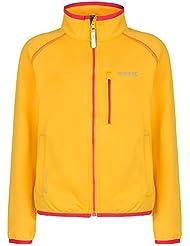 Regatta - Chaqueta softshell modelo limit para niños (9/10 años/amarillo)