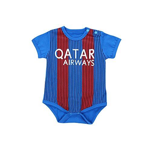 ALLAIBB - Mono - para bebé niño Messi 10(Barca) 70 cm
