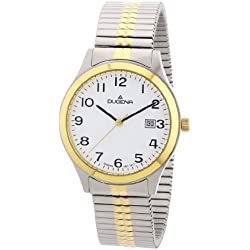 Dugena Classic Gents Watch Quartz Watch With Metal Strap 4460367