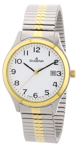 Dugena Classic Gents Watch Quartz Watch With Metal Strap  4460367