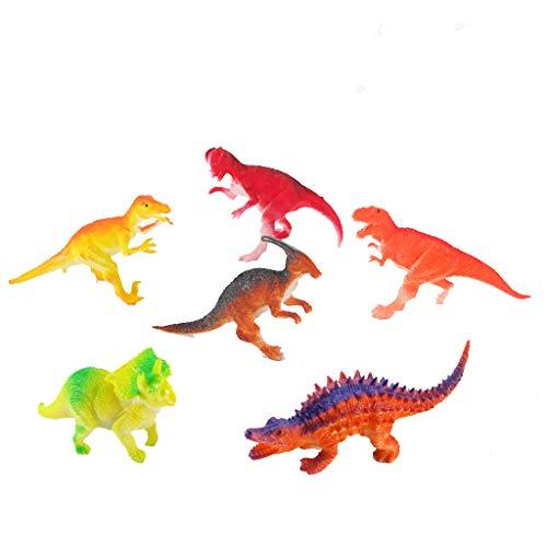 Tianya Paquete de dinosaurios de 5.5 pulgadas con apariencia...