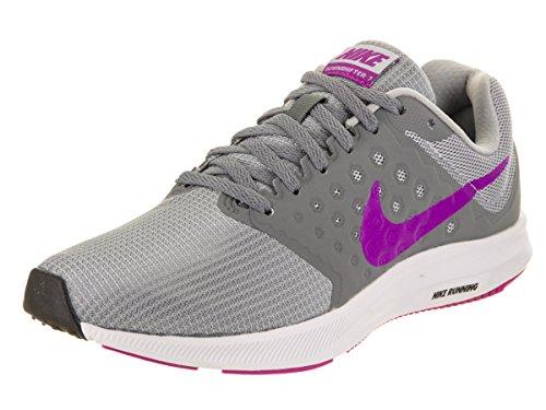 Nike Wmns Downshifter 7, Scarpe da Corsa Donna Grau (Grey/Fuchsia)