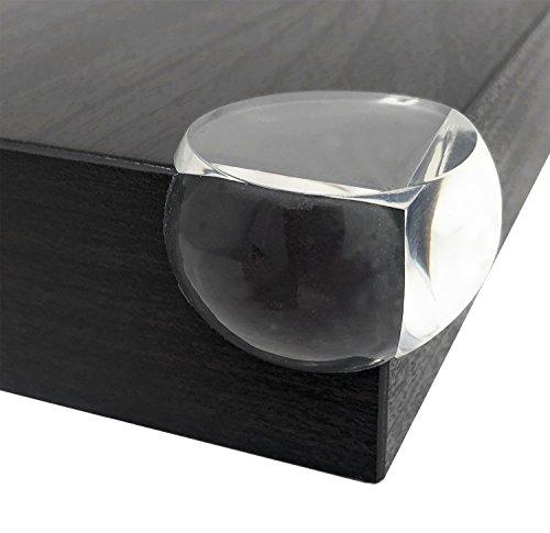 Hochwertiger Baby Eckenschutz - Original Kantenschutz Transparent aus Kunststoff - Stoßschutz Kindersicherung - Selbstklebend für Tische, Schränke und Möbel (Ecke Schrank Möbel Verwendet)