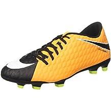 Nike Hypervenom Phantom 3 FG Suelo duro Adulto 42.5 bota de fútbol - Botas de fútbol (Suelo duro, Adulto, Masculino, Azul, Blanco, Monótono)