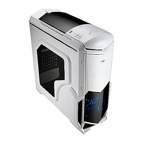 Aerocool BattleHawk Boîtier PC Blanc