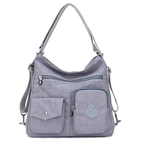 Outreo Mujer Bolsos de Moda Impermeable Mochilas Bolsas de Viaje Bolso Bandolera Sport Messenger Bag...