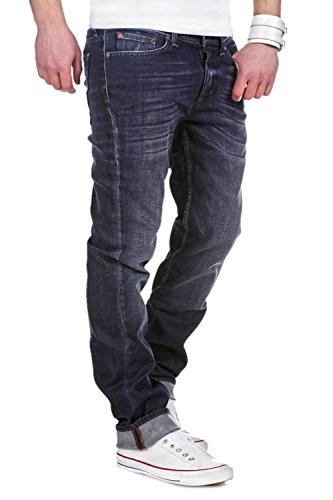 7 for all Mankind Jeans SLIMMY American Flee - Dunkelblau [W36]