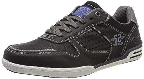 82902 Sneaker, Schwarz (Black 00001), 45 EU ()