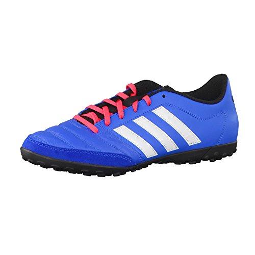 adidas Gloro 16.2 TF, Chaussures de Foot Homme, Bleu, 39 EU Noir / blanc / rouge (bleu impact / blanc Footwear / rouge impact)