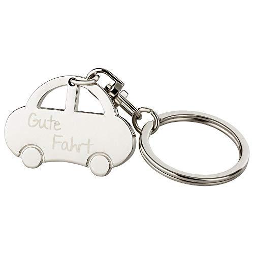 Schlüsselanhänger: Auto 'Gute Fahrt'