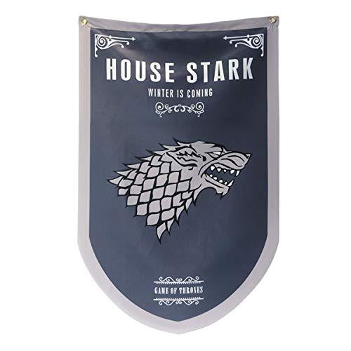 Conjunto de 4 posavasos de bebidas ORIGINAL JUEGO DE TRONOS LANNISTER LOGO Stark Estera de televisión HBO