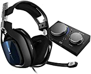 ASTRO Gaming A40 TR Cuffie Gaming Cablate e MixAmp Pro TR, 4 Gen, ASTRO Audio V2, Dolby Audio, Microfono inter